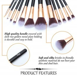 Qivange Makeup Brushset with Holder p.2