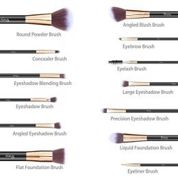 Qivange Makeup Brushset with Holder p3
