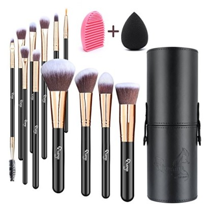 Qivange Makeup Brushset with Holder